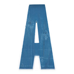 RR - On Sale XXL Wall Letter in Bright Blue - Letter J - Quick Ship XXL Wall Letter in Bright Blue Letter J