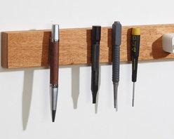 "M.O.C. Board Mahogany - 12"" Mahogany Magnetic knife strip"