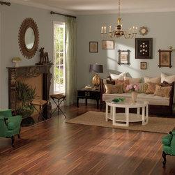 VERESQUE® Burnished Walnut Planks Color: U1415 Quick-Step Laminate Flooring - VERESQUE® Burnished Walnut Planks