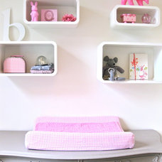 eclectic nursery by Iris
