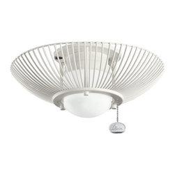 Kichler Lighting - Kichler Lighting Wire Frame Ceiling Fan Light Kit X-WNS411083 - Kichler Lighting Wire Frame Ceiling Fan Light Kit X-WNS411083