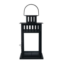 IKEA of Sweden - BORRBY Lantern for block candle - Lantern for block candle, black