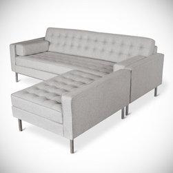 Gus - Spencer Loft Bisectional Sofa - Spencer Loft Bisectional Sofa by Gus Modern