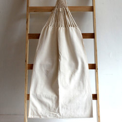 Hand Made Good Trade Handwoven Hammock, Natural - A hammock is not to be excluded from any summer home! This off-white one would even look gorgeous hung inside.