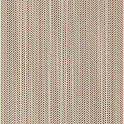 Loloi Rugs - Loloi Rugs Ibiza Ivory-Multi Contemporary Indoor / Outdoor Rug - Stripes in a rainbow of hues have been paired with a herringbone pattern in ivory, creating the unique layered look of this Loloi Rugs indoor / outdoor rug. From the Ibiza Collection, this contemporary rug also features power loomed construction with a slim pile that is easy to maintain both indoors and out.