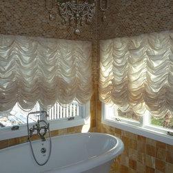 Custom Window Treatments Austrian Shades Designed And