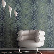 Modern Wallpaper by Wallcoverings For Less