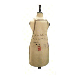 Barreveld - Cotton Chambray Apron - Avoid splatters and stains with this stylish rustic-chic chambray apron. Versatile enough for a man or women, and durable enough to withstand any mess!