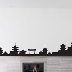 Japanese Symbol Vinyl Wall Decal JapaneseSymbolUScolor009; 12 in. - Vinyl Wall Decals are an awesome way to bring a room to life!