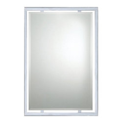 Quoizel - Quoizel Norton Wall Mirror - 22W x 32H in. - QR1221C - Shop for Mirrors from Hayneedle.com! About Quoizel LightingLocated in Charleston South Carolina Quoizel Lighting has been designing timeless lighting fixtures and home accessories since 1930. They offer a distinctive line of over 1 000 styles including chandeliers lamps and hanging pendants. Quoizel Lighting is the perfect way to add an inviting atmosphere to any area in your home both indoors and out.