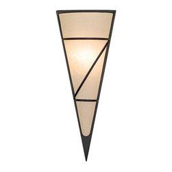 Joshua Marshal - One Light Brown Wall Light - One Light Brown Wall Light