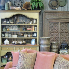 Eclectic Living Room by Country Willow