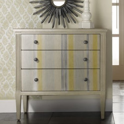 3-Drawer Shimmer & Stripes Chest