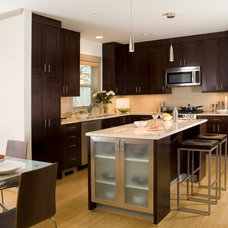 Contemporary Kitchen Cabinetry by Green Depot