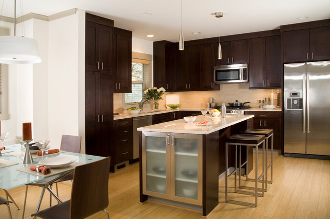 Contemporary Kitchen Cabinets by Green Depot