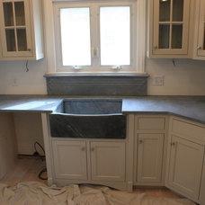 Midcentury Kitchen Sinks by The Stone Studio