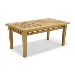 Westminster Teak Furniture - Brighton Teak Coffee Table - The Westminster Brighton Teak Coffee Table makes a nice addition to any Westminster Teak wooden bench, steamer or lounger. The perfect match to theBrighton Teak Coffee table is our Brighton Teak Side Table 14125