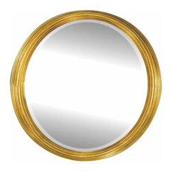 Alno Inc. - Alno Creations Gold Oval Mirror - Framed Gold 2002-122 - Alno Creations Gold Oval Mirror - Framed Gold 2002-122