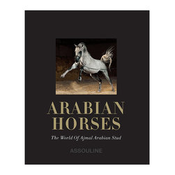 """Frontgate - Arabian Horses - 144 pages; 100 images, including stunning two-page photos. Beautifully hand-bound and delivered in an elegant linen clamshell box. Author Judith E. Forbis is a renowned breeder and international judge, and was the first woman to race Arabian horses in Turkey. Get lost in the ancient intrigue of Arabian horses, and explore the majesty of the bloodline that lives on today. Our luxury oversize limited edition of """"Arabian Horses' documents the breed's rich heritage and cultural contributions - from battles, caravans, and royal stables to the walls of Karnak and the writings of poets - and celebrates 20 horses from the renowned Ajmal Arabian Stud farm in Kuwait, which is celebrated as a center of breeding excellence.  .  .  ."""