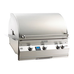 Aurora Built-In Grill 30 x 22 - Rotisserie Back Burner