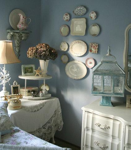 Eclectic  romantic home