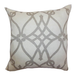 Pillow Collection - The Pillow Collection Quenild Moorish Pillow - Charcoal Multicolor - P18-MVT-103 - Shop for Pillows from Hayneedle.com! Let the Quenild Moorish Pillow Charcoal transport you to a different century. The charcoal Moorish print set against the white background will provide a classic point of interest in your living space. It's made with soft high-quality 100% linen so you can be sure it will be as comfortable as it is stylish.About The Pillow CollectionIdentical twin brothers Adam and Kyle started The Pillow Collection with a simple objective. They wanted to create an extensive selection of beautiful and affordable throw pillows. Their father is a renowned interior designer and they developed a deep appreciation of style from him. They hand select all fabrics to find the perfect cottons linens damasks and silks in a variety of colors patterns and designs. Standard features include hidden full-length zippers and luxurious high polyester fiber or down blended inserts. At The Pillow Collection they know that a throw pillow makes a room.