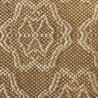 EcoFirstArt - Nasturtium Weave Sisal Rug - Outfit your floors in sumptuous natural materials, with this ecofriendly jute woven rug. With a gorgeous floral design of nasturtiums tastefully texturing the carpet, this neutrally toned rug will add refinement to any room in your house.