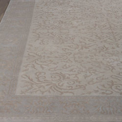 Exquisite Rugs Ivory Vines Rug, 12