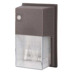 """Monument - Wall Light Fixture 70 Watt Hps Bronze - """"Dusk-To-Dawn"""" Energy-Saving Wall Light Fixture"""
