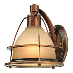 Troy-CSL Lighting - Troy-CSL Lighting B2051SBZ Bristol Bay 1 Light Wall Sconces in Sunset Bronze - Bristol Bay 1Lt Wall Sconce Large