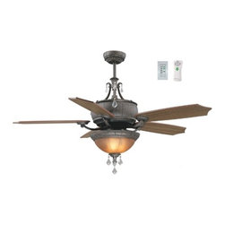 Ellington MON56GB5CWR Monaco Fan With Light - Get up to 10% coupon code: Houzz