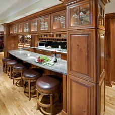 Traditional Basement by Stimmel Consulting Group