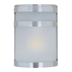 Maxim Lighting - Maxim Lighting 86005FTSST Arc EE 1-Light Outdoor Wall Lantern - Maxim Lighting 86005FTSST Arc EE 1-Light Outdoor Wall Lantern