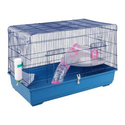 A and E Cage Co. - A&E Cage Co. Ferret Kit with Tubes Multicolor - FER80KIT - Shop for Ferret Cages and Kennels from Hayneedle.com! The Ferret Kit with Tubes keeps your furry little friends safe and gives them a fun place to play. This kit's available in two sizes. It has plenty of room to play and also includes two tubes for ferrets and rats to play in on and around. This kit comes complete with a litter box water bottle and feed bowl perfect for those just starting out. It has solid escape-proof bars that are made of welded steel and are .5 to .75 inches apart. This kit with play tubes is great for rats or ferrets.About A&E CageThis bird cage is designed and manufactured by A&E Cage Co. LLC. The company is a family-owned and family-operated birdcage company with over 30 years experience in the pet industry. Based in Burlington N.J. A&E Cage offers a wide selection of aviaries bird carriers and bird toys and numerous styles of bird cages to keep your pet birds happy and healthy.
