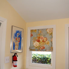 Transitional Laundry Room [Before & After] L.A. Family Home