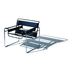 Wassily Chair with Sled Base