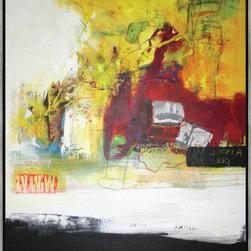 "SCANDINAVIAN ART FACTORY - LARGE ARTWORK - NAME-""B- STORY"""