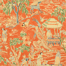 Asian Wallpaper by Thibaut