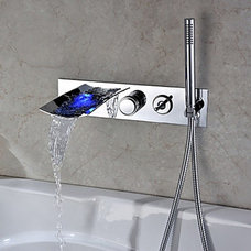 Modern Bathtub Faucets by Faucetsuperdeal.com
