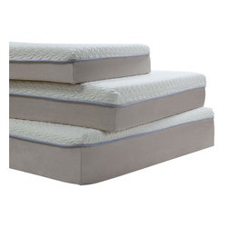 ACME Furniture - Acme Lavell  Eastern King Memory Foam Mattress and Foundation Set - Acme Lavell 12 Eastern King Memory Foam Mattress and Foundation Set 29096