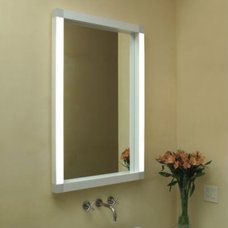 Bathroom Mirrors Rezek Lighted Mirror by Artemide