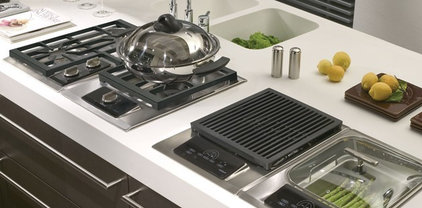 Eclectic Cooktops by Sub-Zero and Wolf
