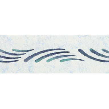 """Stencil Ease - Malta Breeze Stencil - Malta Breeze Home Decor Stencil European Classic Stencil Contains: 1 - 6"""" x 18"""" Stencil Sheet Actual Size: 1-1/2"""" high x 11-3/4"""" repeat (3.81 cm x 29.85 cm) European Classic Stencils are simple one part stencils. Wonderful for the beginning stenciler using one color as well as the more experienced artisan. The design shown here was stenciled using a stippling technique on a Faux Finish background. This design was painted using the following Spill Proof stencil paint colors: SP-34 Meadow GreenSP-46 Royal Blue Complete kit comes with stencils paints and 1 T1-68 double ended stencil brush."""