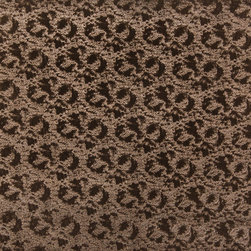 Brown Metallic Shiny Patterned Faux Leather By The Yard - P6478 is great for residential, commercial, automotive and hospitality applications. This faux leather will exceed 100,000 double rubs (15,000 is considered heavy duty), and is very easy to clean and maintain.