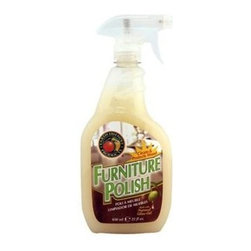 Earth Friendly Furniture Polish Spray - 22 Fl Oz - When cleaning your house, wouldn't you rather clean the all-natural way instead of merely replacing dust with harsh chemicals? Furniture Polish from Earth Friendly Products is made of all-natural olive and orange oils, and can be used on all types of surfaces, from wood to vinyl. Earth Friendly Products uses only plant-based, recycled, animal-friendly materials to make their many useful, environmentally friendly products, which are biodegradable and non-toxic.