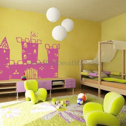 Kids Room Wall Decals - Prince's Castle Nursery Wall Decals--walldecalmall.com