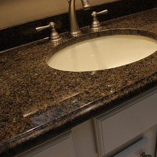 Traditional Vanity Tops And Side Splashes by Cabinet-S-Top