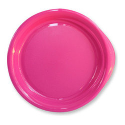 "Preserve - Preserve Everyday 9.5"" Plates in Pink - 4 pack - You want your dinnerware to be pretty and to make a statement, but you don't want that statement to be ""I break easily!"" or ""I contribute to waste problems!"" That's why Preserve Everyday Plates in Pink are the ultimate choice for your paperless kitchen. A"