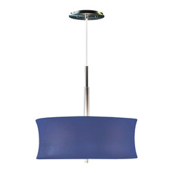 """Sonneman Lighting - Sonneman Lighting Lightweights Small Round Modern / Contemporary Pendant Light - Add some rich gusto to your living room, kitchen, or dining room with this contemporary wall pendant. The fun Spandex shade provides clean and friendly light that is sure to impress and spark conversation. Summer comes alive in any room and is sure to make you laugh and clap your hands. With 10 ft adjustable wire. Canopy diameter 5""""."""