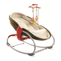 Tiny Love - 3 in 1 Rocker Napper - Features: -Three uses in one product.-Rocker easily converts from seat to comfy napper.-Soothing movements rock your baby at all 3 reclining positions.-Flat mattress with raised borders offers a safe and cozy napper environment.-Cute electronic toy dangles on an adjustable arm.-Distressed: No.Dimensions: -Product weight: 9.05 lbs.-Overall Product Weight: 9.05 lbs.